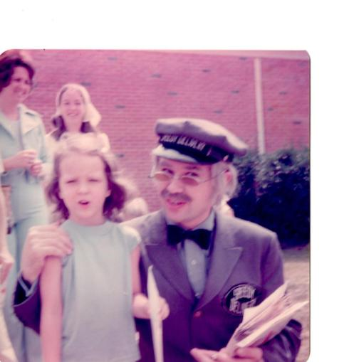 A 4 year old me & Mr. McFeely