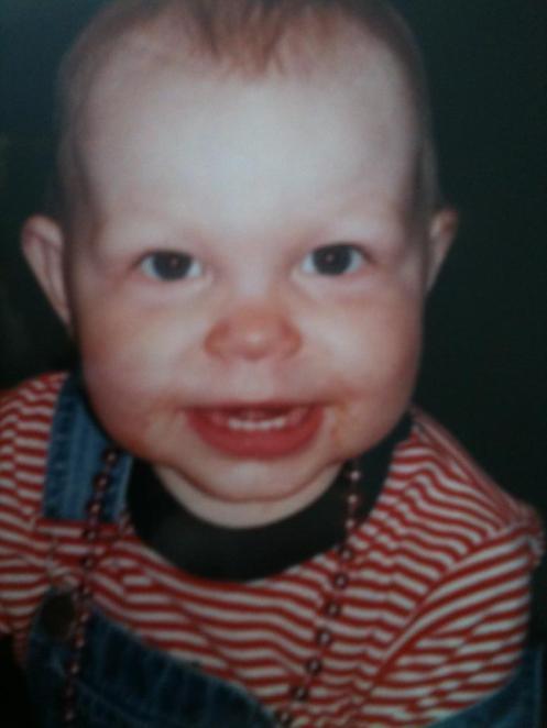 Always loved those cheeks!