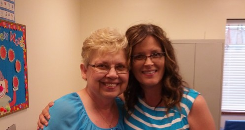I shared both laughter and tears with sweet Miss C. Love her!