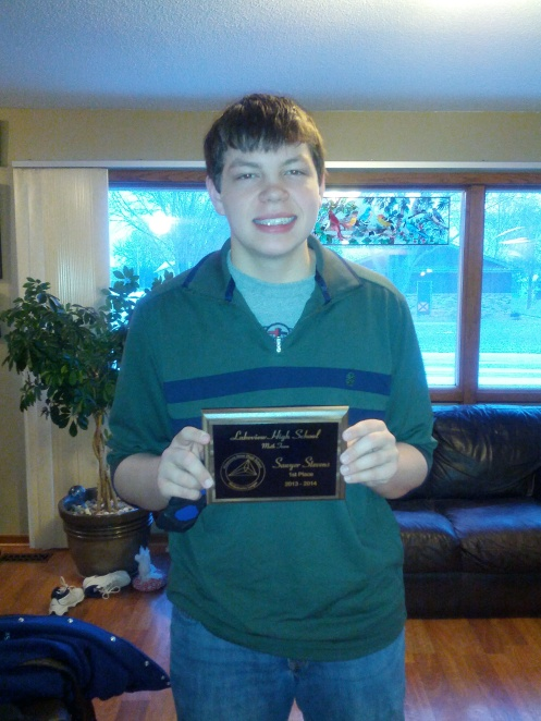 Top Math Student for Math League!
