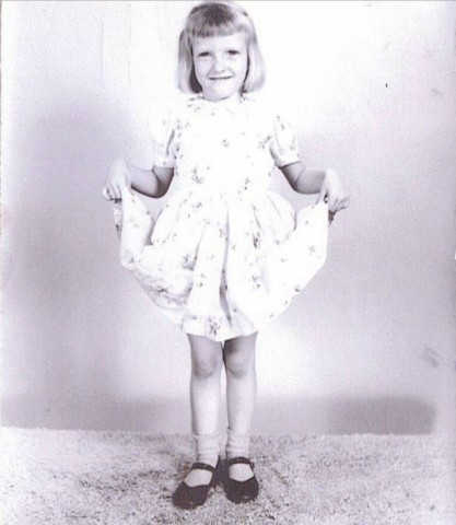 For good measure, this is my own sweet momma as a little girl.