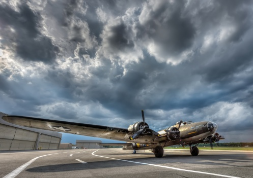 B17 Super Fortress World War 2 Bomber